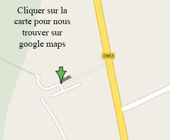 carte de localisation du centre equestre, cliquer sur la carte pour nous trouver sur google maps